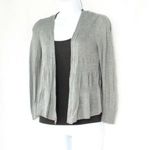 Sweaters - Express Gray Lightweight Cardigan 3/4 Sleeve XS
